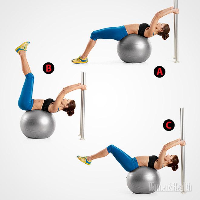 5 упражнений, благодаря которым на животе появятся кубики