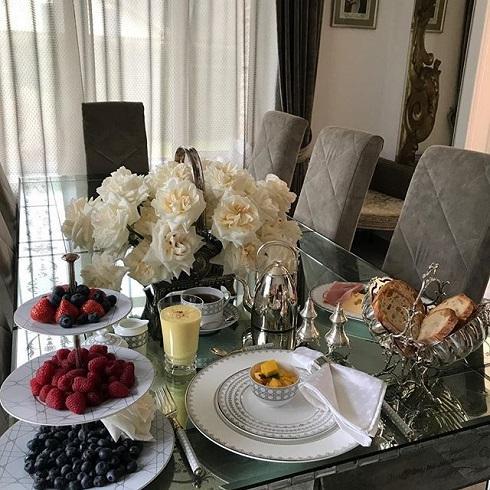 Яна Рудковская поделилась рецептом своего завтрака