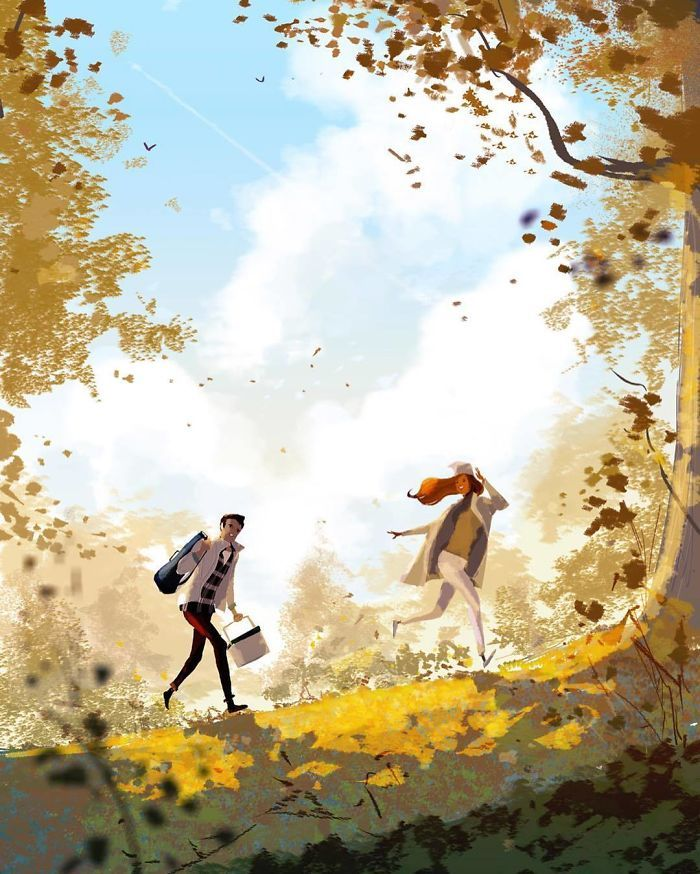 Этот художник доказывает, что любовь в мелочах