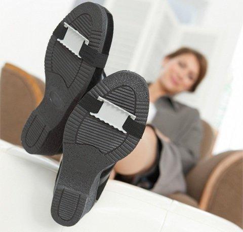 4 лайфхака, как сделать подошву зимней обуви нескользской