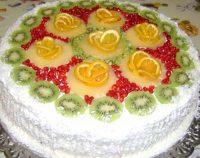Фруктовый торт без выпечки — это наслаждение вкусом