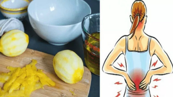 Лимонная кожура может облегчить боль в суставах навсегда