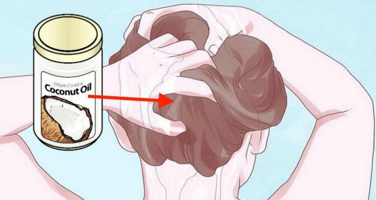 Как использовать кокосовое масло, чтобы избавить ваши волосы от седины, истончения или выпадения