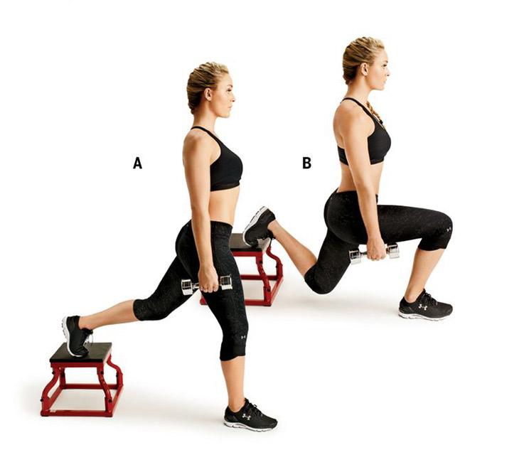 Нет целлюлиту: ударная жиросжигающая тренировка на ноги и ягодицы