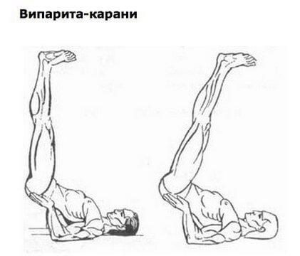Это упражнение йоги убирает седину и морщины