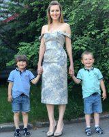 Многодетная мама Мария Кожевникова удивила стройностью — фото