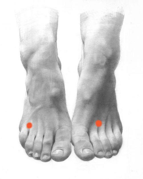 Волшебные точки, регулирующие жировые отложения в нижней части живота