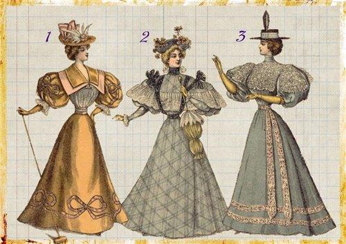 Выберите даму и узнайте, какие свойства натуры Вам достались от  предков