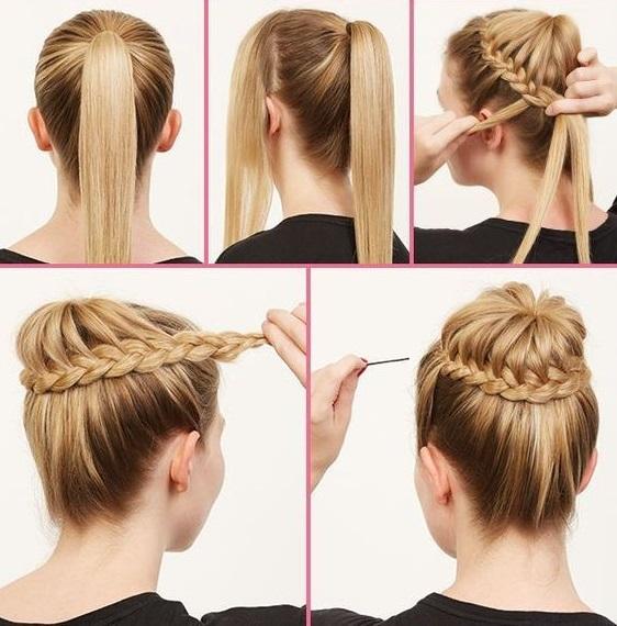 Прически на среднюю длину волос: 13 быстрых вариантов на каждый день и для тожественных случаев (пошагово)