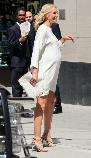 СМИ: Камерон Диас первый раз беременна!
