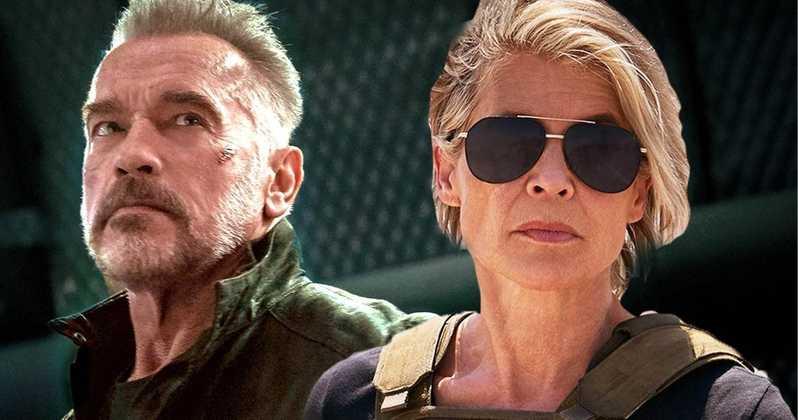Линда Хэмилтон и Арнольд Шварценеггер возвращаются к своим культовым ролям в первом трейлере фильма «Терминатор: Темные ...