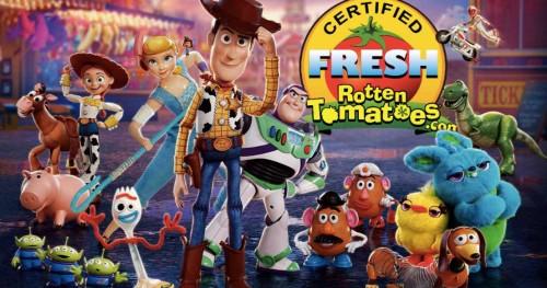 «История игрушек 4» получает от критиков 100% рейтинг одобрения