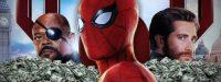 «Человек-паук: Вдали от дома» легко занял лидирующую позицию в кассах выходных дней