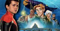 Том Холланд, возможно, сыграет главную роль в новом ремейке Диснея «Атлантида: Затерянный мир»