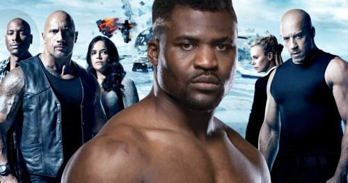 Боец UFC Фрэнсис Нганну собирается присоединиться к актерскому составу «Форсажа 9»