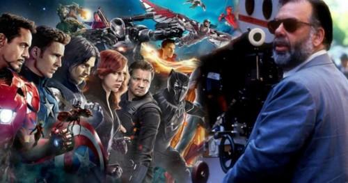 Фрэнсис Форд Коппола согласился с Мартином Скорсезе, заявившим, что фильмы MCU Marvel и Disney не являются кино
