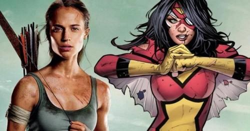 Sony готовит художественный фильм «Женщина-паук» с режиссером «Игры престолов» и Алисией Викандер в главной роли