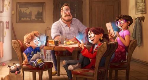 Sony Pictures выпустила первый трейлер нового мультфильма от продюсеров Фила Лорда и Криса Миллера «На связи»