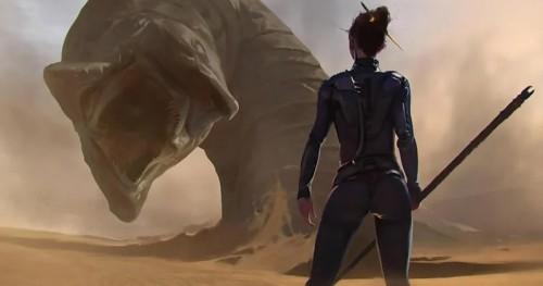 Режиссер ремейка «Дюны» потратил год на разработку дизайна новых песчаных червей