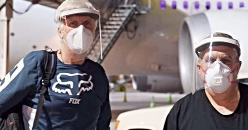 Джеймс Кэмерон отправляется на 14-дневный карантин перед возобновлением съемок «Аватара 2»