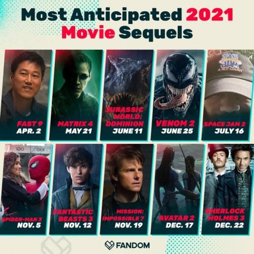 «Веном 2» - одно из самых ожидаемых продолжений 2021 года