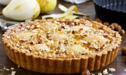 Грушевый пирог – 5 рецептов в духовке и мультиварке